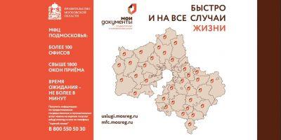 МФЦ Подмосковья – муниципальные услуги по экстерриториальному принципу