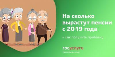 Как вырастут пенсии в новом году