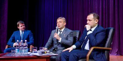 Сергей Юров вручил Игорю Брынцалову знак «За заслуги перед Балашихой»