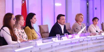Андрей Воробьев подвел итоги уходящего месяца