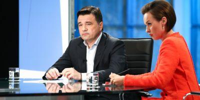 Андрей Воробьев подвел основные итоги июля в эфире телеканала «360»