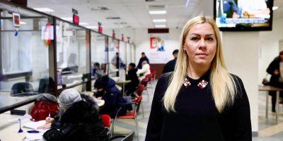 Директор МФЦ Балашихи Наталья Ломакинадала интервью газете «Факт»