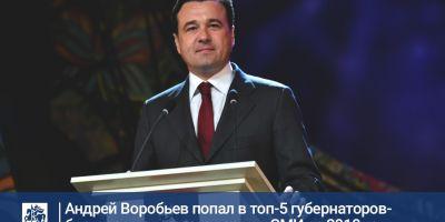 Андрей Воробьев – в топе лидеров по цитируемости в СМИ