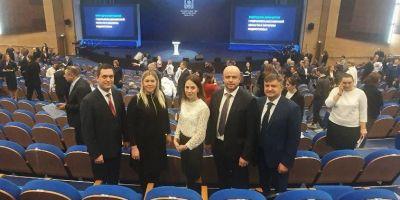Наталья Ломакина посетила обращение губернатора Андрея Воробьева к жителям