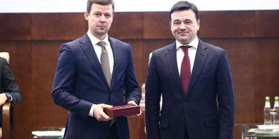 Глава Балашихи Сергей Юров удостоен высокой награды