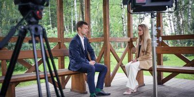 Глава Балашихи Сергей Юров в прямом эфире